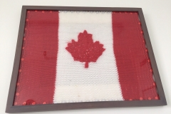 Knitted Canadian Flag (1 of 2)