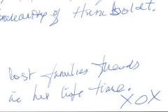 Message of Condolence to Humboldt from Cambridge Bay, Nunavut B-1655
