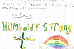 Student Artwork and Letter from Bracebridge, Ontario B-1988(q)