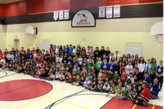 Photo of the Staff and Students of Alexandra Shaughnessy Community School in Owen Sound, ON (1 of 2) B-2(c)