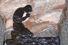 Painted Rock Artwork